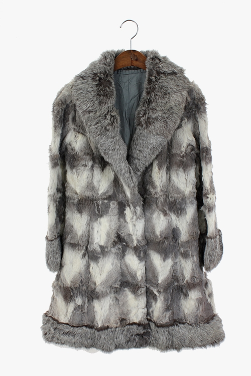 REX FUR COAT 리가먼트